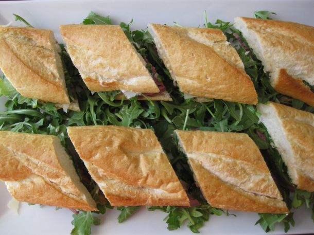 Roast Beef Sandwich With Truffle Butter Red Spatula Diaries